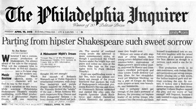 Inquirer Review Midsummer