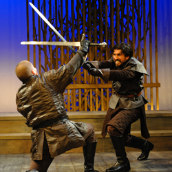 Macbeth - Philadelphia Shakespeare Theatre. Photo by Kendall Whi